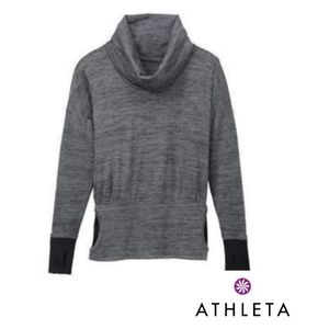 ATHLETA Batwing & Robin Cowl Neck Pullover Sweater